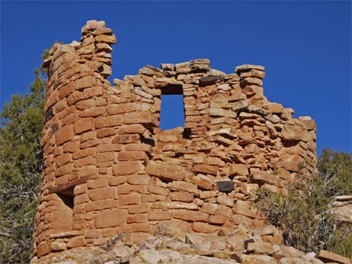 Round Tower ruin at Hovenweep