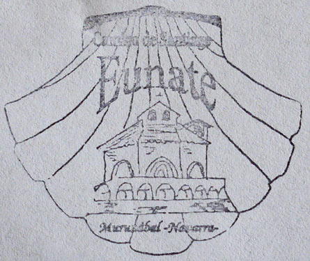 Credential Stamp from Eunate Church