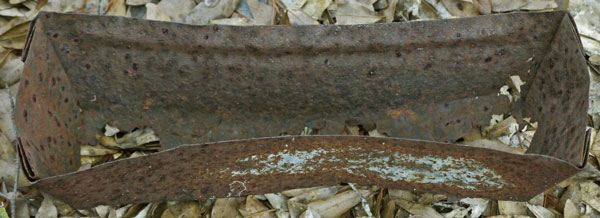 Steel Pitch Collecting Trough