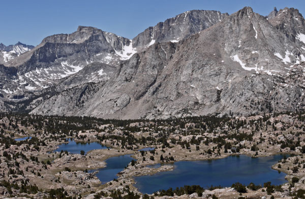 Lakes near Kern River Headwaters