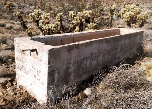 Dry Trough near Vallecito Wash