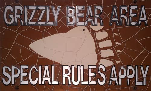 Grizzly Sign