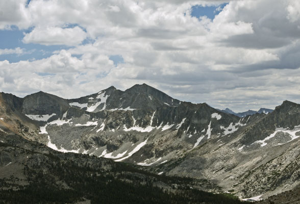 Mather Pass from Ascent to Vennacher Pass C
