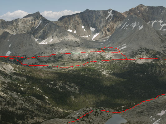 Taboose Pass from Vennacher Pass D