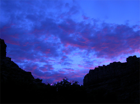 Sunset, Green River, Utah, 2006