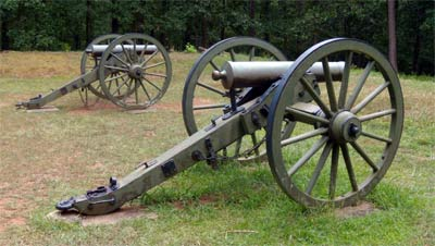 Cannon at the Kennesaw Civil War Bttlefield